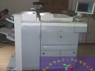 单位换下一台高速复印机canon105+每分钟105复印机大液晶屏幕
