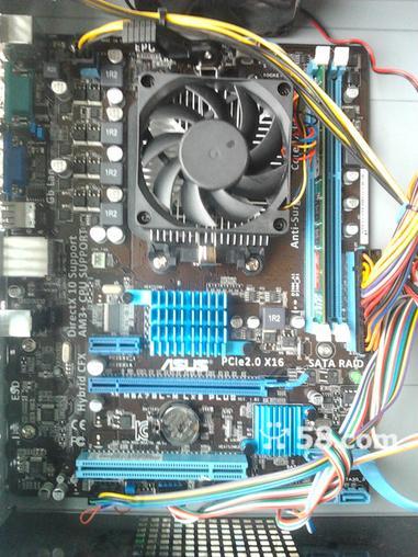 全新台式机 aoc显示器(鼠标键盘,电源线全套)