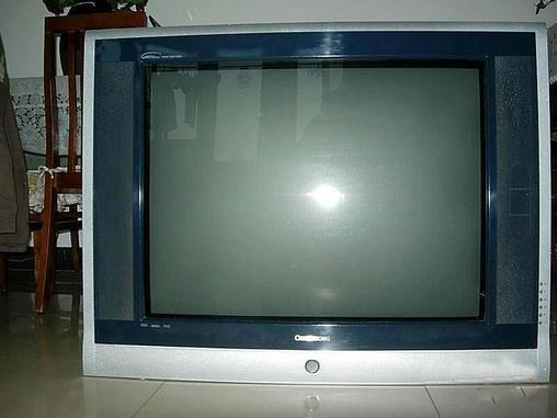 长虹34寸高清电视低价转了-crt普通电视-二手库