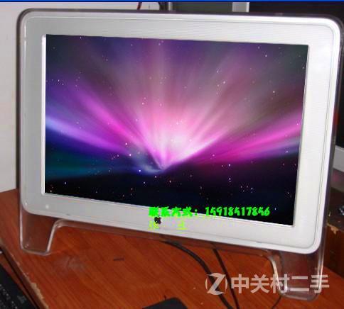 窄边框苹果显示器
