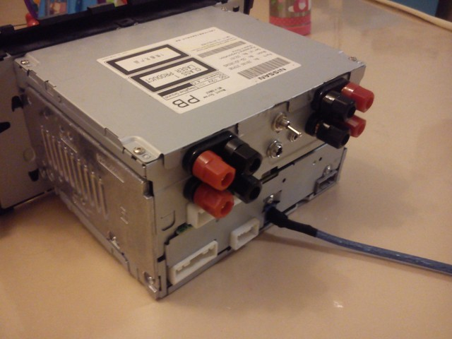 车载cd机接无源低音炮